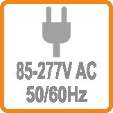 Acceptable Voltage Range between 85-277V