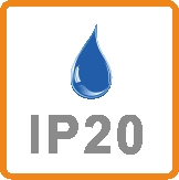 IP20 rating
