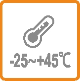 Working Temperature Range